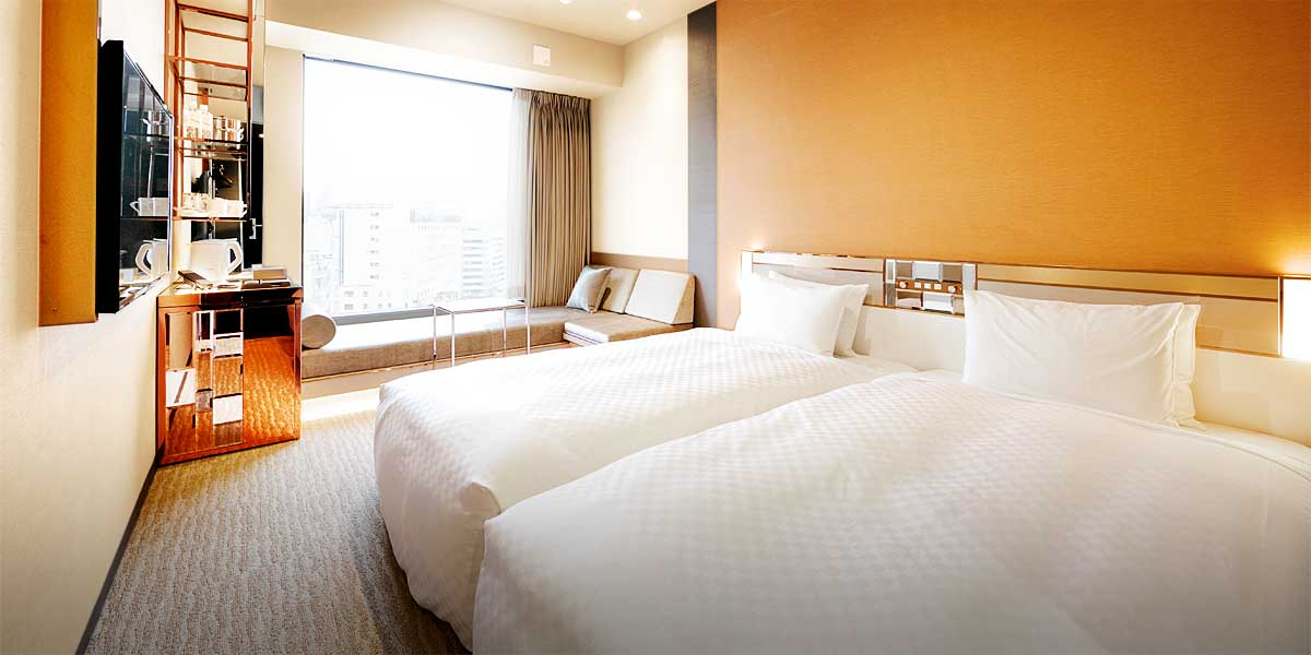 Executive Twin Super City View Executive Twin Room with City View